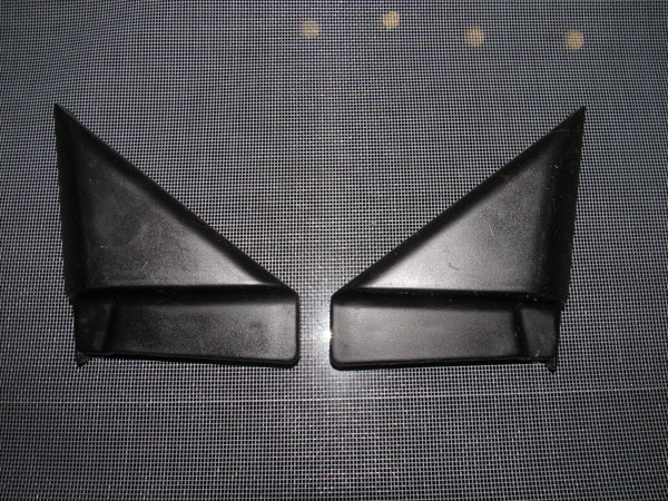 94-01 Acura Integra OEM Black Exterior Inner Mirror Trim Set