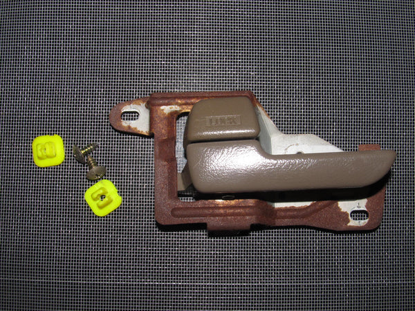 94-01 Acura Integra OEM Brown Interior Door Handle - Driver's Side - Left