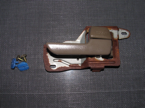 94-01 Acura Integra OEM Brown Interior Door Handle - Passenger's Side - Right