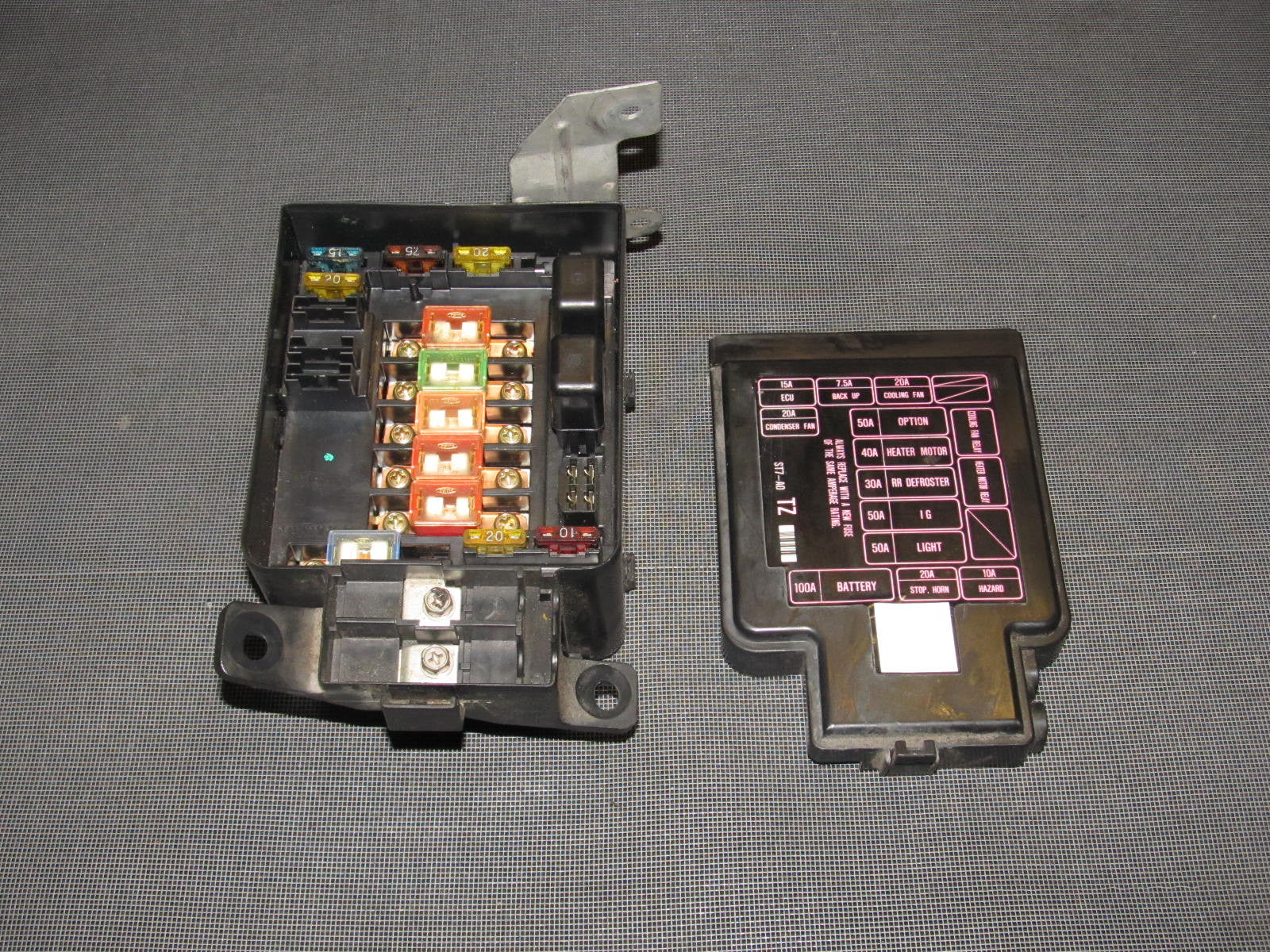 94 95 96 97 98 99 00 01 Acura Integra Oem Engine Fuse Box