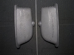 95-99 Subaru Outback Impreza OEM Gray Door Handle Pouch - Rear Left & Right