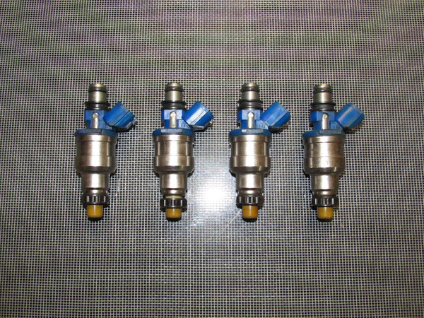 90-93 Mazda Miata OEM 1.6L Blue Fuel Injector - 4 pieces set