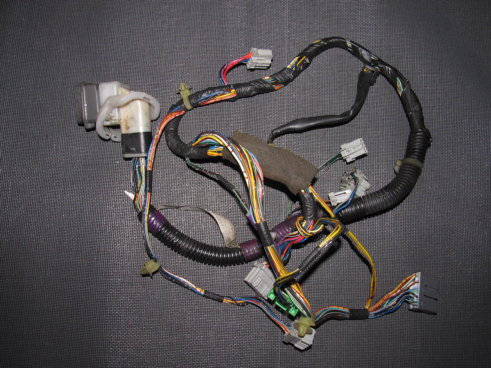 94 01 Acura Integra Oem Coupe Door Wiring Harness Left Mdx Residential Electrical Symbols