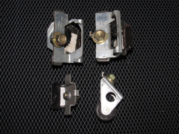 86.5-88 Toyota Supra OEM Door Window Stopper & Roller - Left or Right - 4 pieces