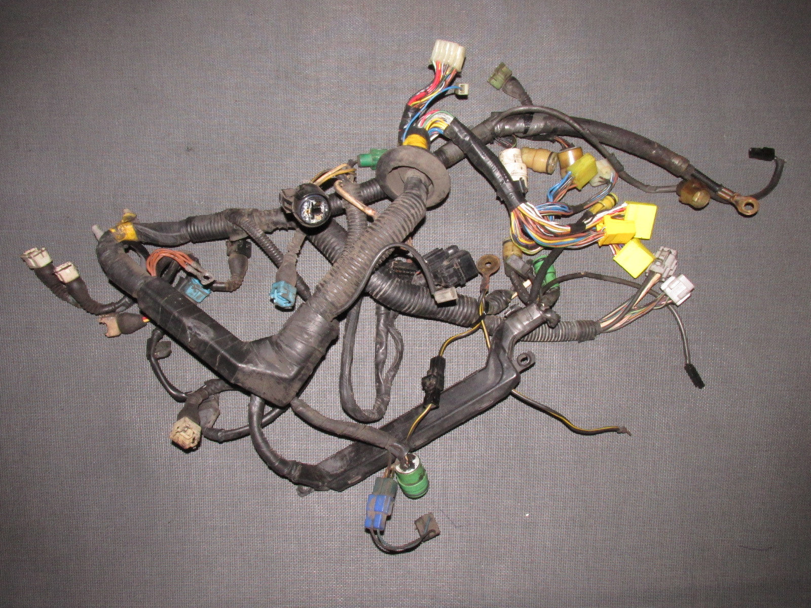 85 86 87 88 89 Toyota MR2 OEM 4AGE Engine Wiring Harness Engine Wiring Harness on suspension harness, dodge sprinter engine harness, engine harmonic balancer, oem engine wire harness, engine control module, hoist harness, bmw 2 8 engine wire harness,