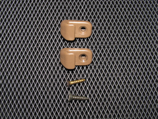 90-96 Nissan 300zx OEM Brown Clothes Hanger - Left & Right
