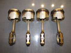 90-93 Miata OEM Piston with Piston Rod Set - 4 pieces