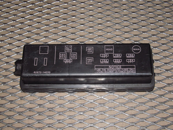 toyota fuse box cover  description wiring diagrams rob