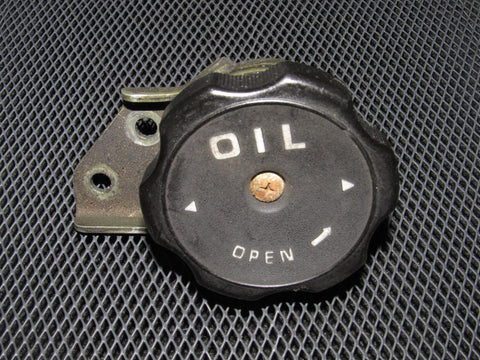 88-91 Mitsubishi Montero OEM Oil Cap with Adapter Bracket
