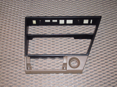1987-1989 Nissan 300zx Climate Control & Stereo Bezel Cover