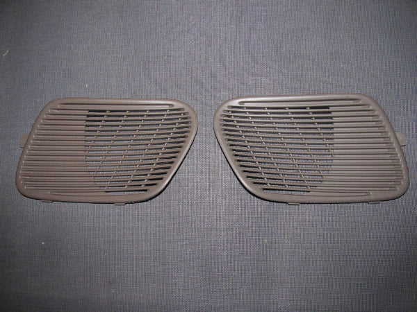 94-01 Acura Integra OEM Brown Rear Speaker Grille - Left & Right Set