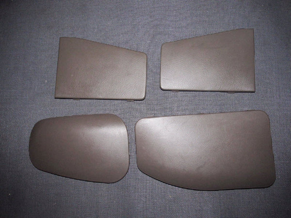 94-01 Acura Integra OEM Coupe Rear Brown Hatch Trunk Panel Cover - 4 pieces