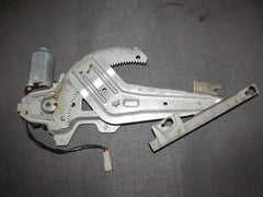 96-00 Honda Civic Sedan OEM Power Window Motor & Regulator - Rear Passenger Side - Rear Right