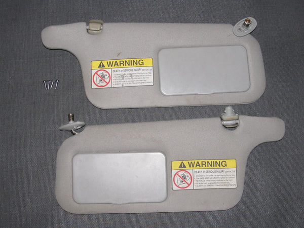 96 97 98 99 00 Honda Civic OEM Sun Visor Set