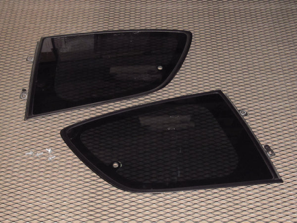 04 05 06 07 08 Mazda RX8 OEM Rear Quarter Window Glass - Set