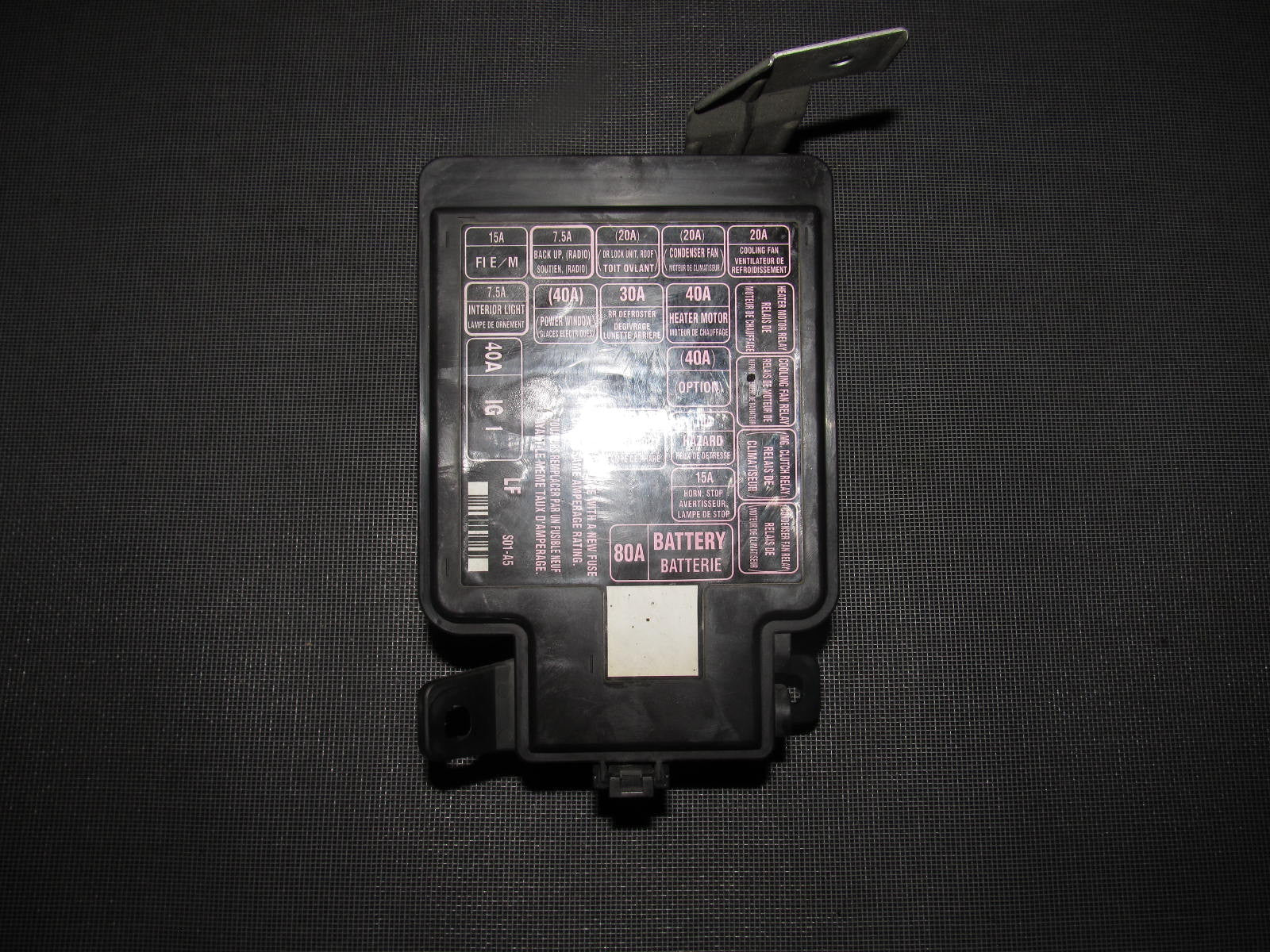 2007 honda civic fuse box diagram 96 97 98 99 00 honda civic oem engine fuse box ...