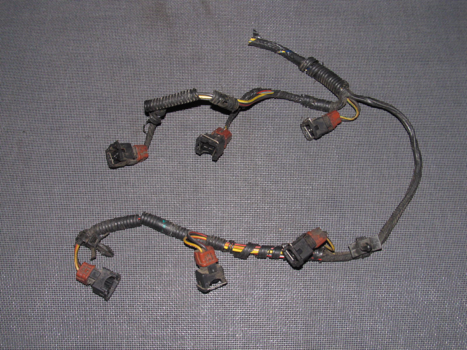 88 91 Mitsubishi Montero V6 Oem Fuel Injector Wiring Harness