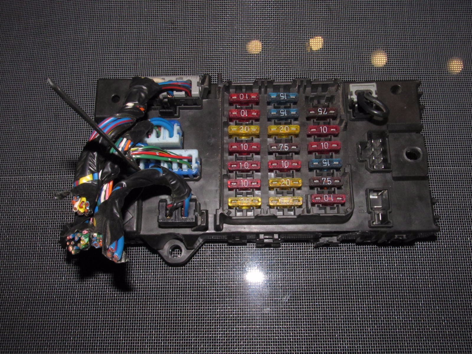 90 96 nissan 300zx oem interior fuse box autopartone com on Ford Mustang Fuse Box Diagram for 90 96 nissan 300zx oem interior fuse box at 2004 Taurus Fuse Box Diagram