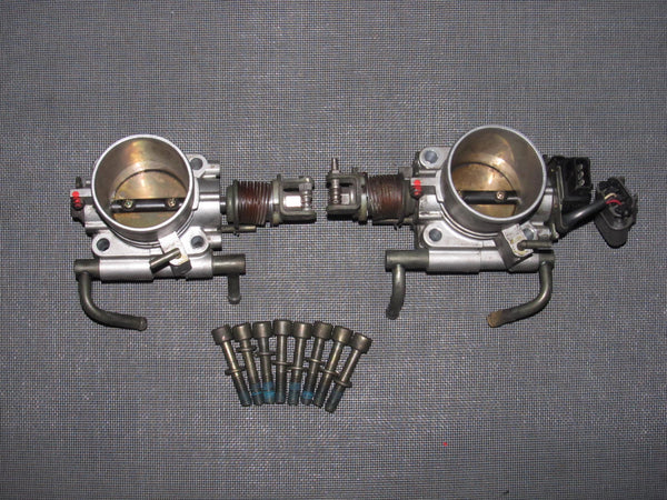 90-96 Nissan 300zx OEM Throttle Body - Left & Right Set - 2 pieces