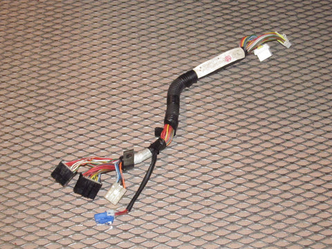 1987-1989 Nissan 300zx OEM Climate Control & Clock Wiring Harness