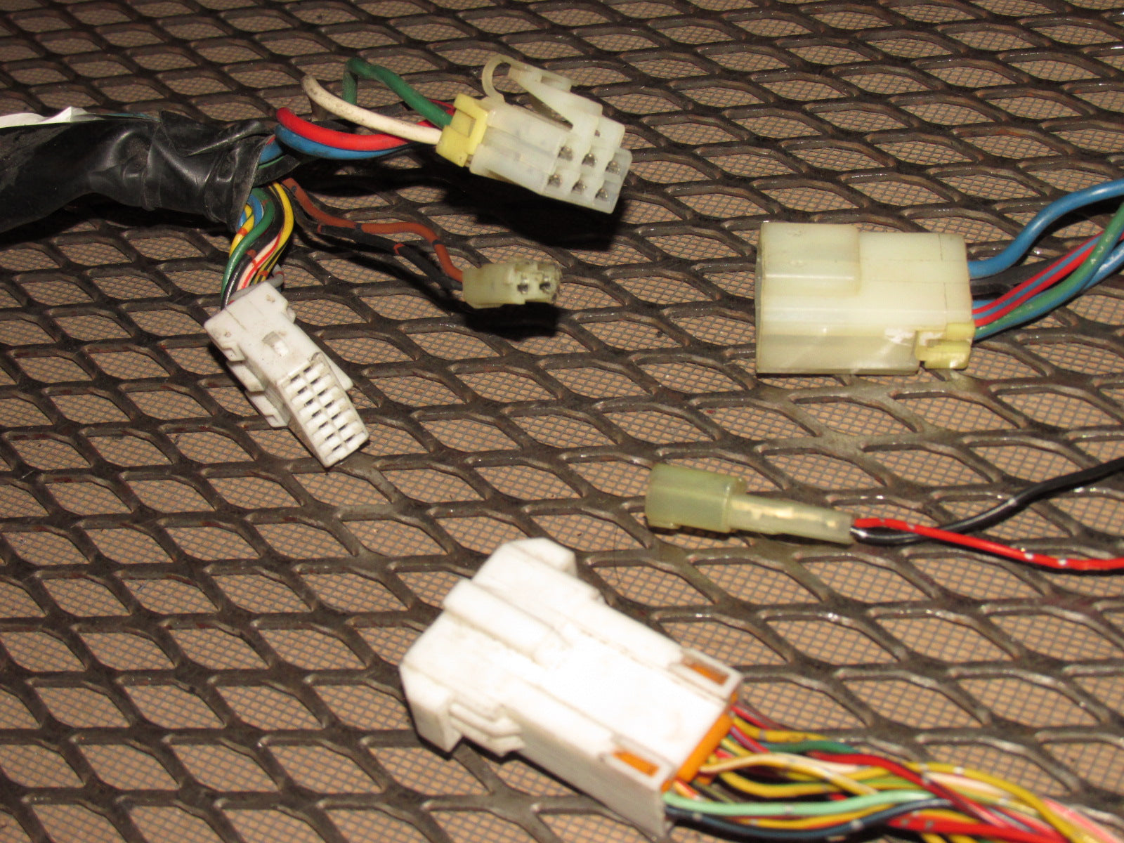 Stupendous 87 88 89 Chrysler Conquest Oem Chassis Door Wiring Harness Pigtail Wiring Digital Resources Remcakbiperorg