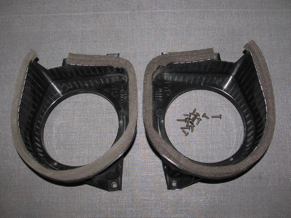 94-01 Acura Integra OEM Coupe Speaker Housing Bracket - Rear Set - 2 pieces