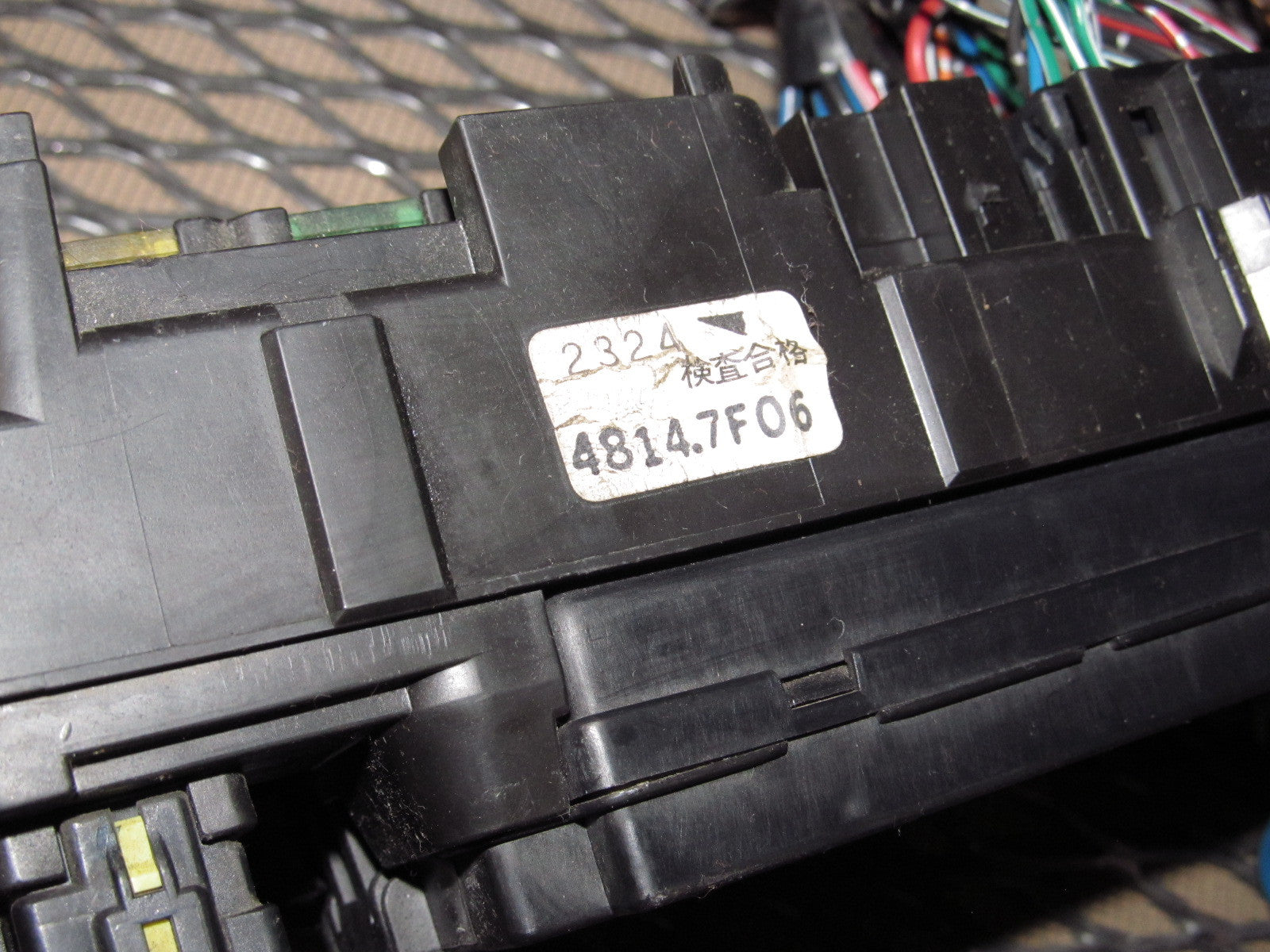 mitsubishi eclipse oem interior fuse box com 97 98 99 mitsubishi eclipse oem interior fuse box