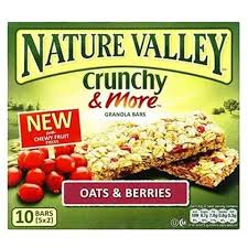Nature Valley Bar Oats And Berries 4g 5 Pieces - MartDeliver