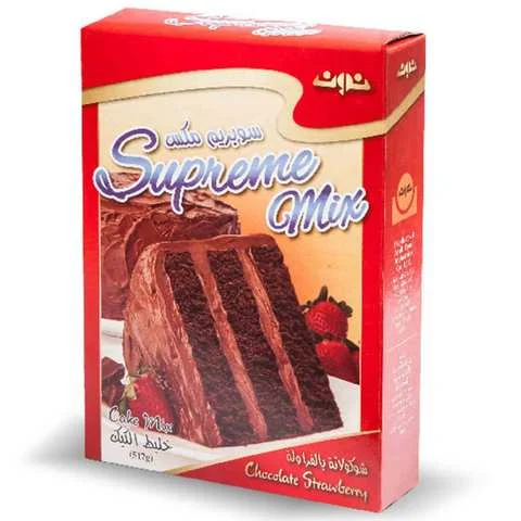 Noon Cake Mix Chocolate And Strawberry 517 Gram - MartDeliver