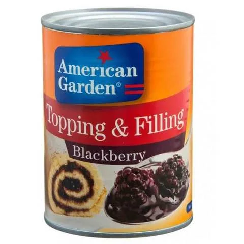 American Garden Topping And Filling Blackberry 595 Gram - MartDeliver