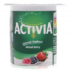 Activia Stirred Yoghurt Mixed Berry Flavor 120 Gram