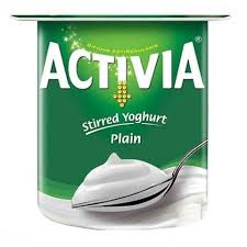 Activia Stirred Yoghurt Plain 120 Gram