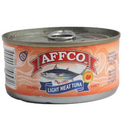 Affco Tuna Light Meat In Chili 170 Gram