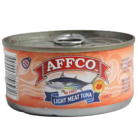 Affco Tuna Light Meat In Chili 170 Gram - MartDeliver