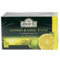 Ahmad Tea Black Tea Lemon And Lime 20 Bag - MartDeliver