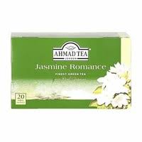 Ahmad Tea Green Tea Jasmine Romance Finest 20 Bag