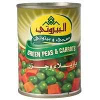 Al-Bayrouty Green Peas And Carrots 400 Gram - MartDeliver