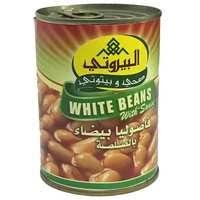 Al-Bayrouty White Bean With Sauce 400 Gram - MartDeliver