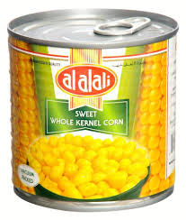 Al Alali Sweet Whole Kernel Corn 340 Gram