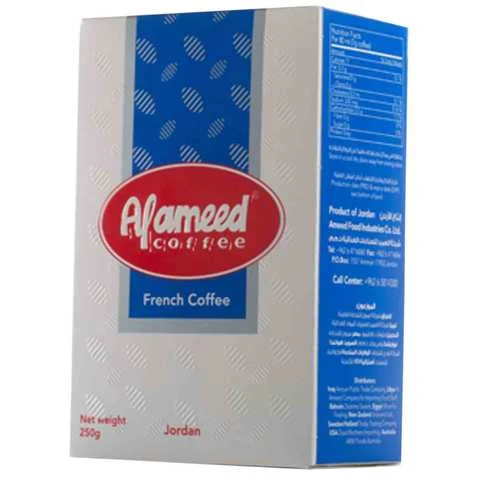 Alameed Coffee French 250 Gram - MartDeliver