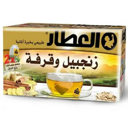 Alattar Cinnamon And Ginger 20 Bag