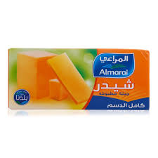 Almarai Cheese Block Cheddar Full Fat 454 Gram