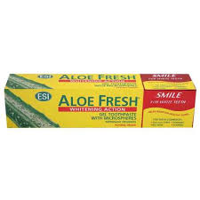 Aloe Fresh Toothpaste Whitening Action Smile For White Teeth 100 Ml - MartDeliver