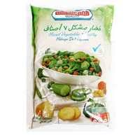 Americana Seven Way Mix Vegetables Frozen 400 Gram