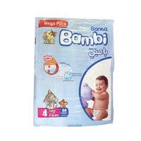 Bambi Diapers Mega Pack Large 80 Pieces - MartDeliver