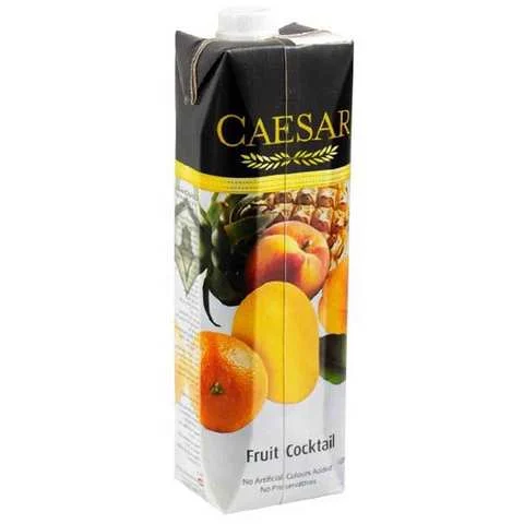 Caesar Juice Fruit Cocktail Flavor 1 Liter - MartDeliver