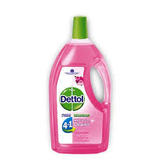 Dettol Rose Disinfectant 4In1 Multi Action Cleaner 900 Ml