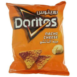 Doritos Chips Tortilla Nacho Cheese Flavor 40 Gram