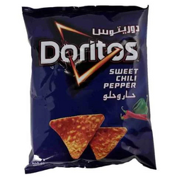 Doritos Chips Tortilla Sweet Chili Pepper Flavor 40 Gram