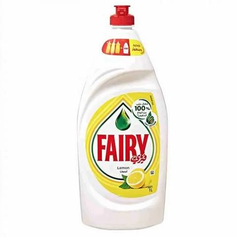 Fairy Dishwashing Liquid Lemon 1 Liter - MartDeliver